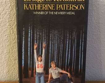 Author Inscribed First U.K. Edition of Bridge to Terabithia, by Katherine Patterson