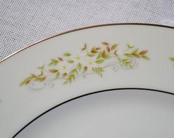 Vintage International Silver Springtime Dinner Plate Floral Design 326 Replacement Made in Japan PanchosPorch