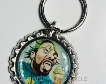 Method Man WuTang Clan Bottle cap Keychain