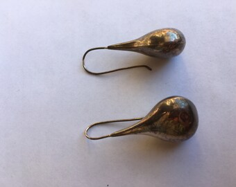 Silver Colored Earrings