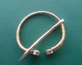 Brass Penannular Brooch