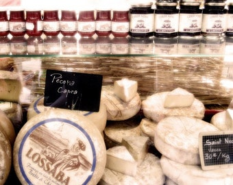 Italian Cheese - 8x8 - Metallic finish