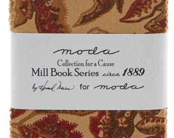 Collection for a Cause, Mill Book Series circa 1889 Charm Pack by Howard Marcus for Moda