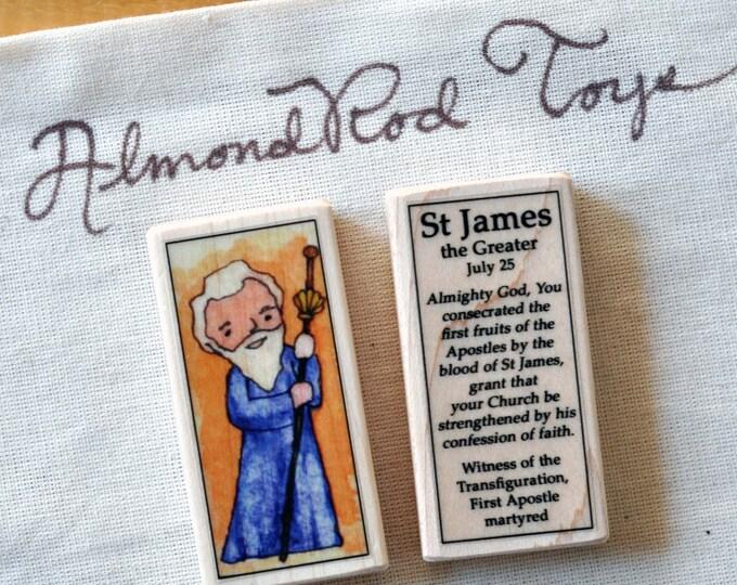 St James the Greater Patron Saint Block