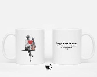 Happiness Mug, 11 oz