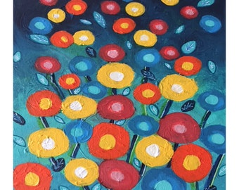 """Limited Edition Fine Art Giclee Print """"Barbuda Blooms"""" Set of 10 ~ 6"""" Cards"""