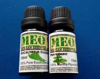 MEO Morgan Essential Oils 100% Organic Peppermint Eucalyptus  ON SALE