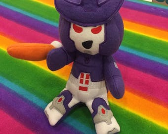 TF G1 Plush Plushie BittyBot Galvatron from Mythfits