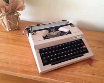 Collectibles 1970's Privileg - 160 T Latin Typewriter / Original Case / Working Condition / Vintage Typewriter Machine / Home Office Dec