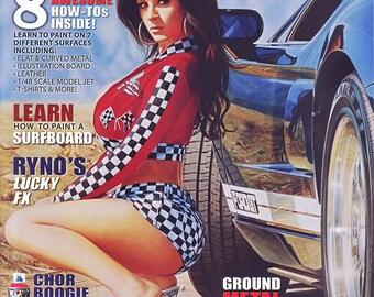 Airbrush Action Magazine - 27th Anniversary Issue - Jon Hul (Cover Artwork)