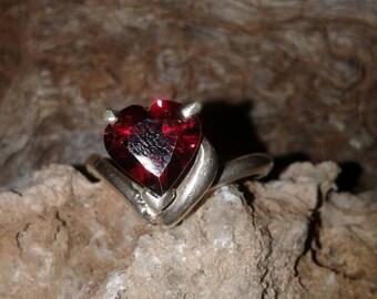 Garnet Ring S64