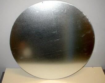 Galvanized sheet metal circle discs custom sizes zinc plated steel