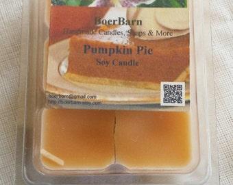 Pumpkin Pie Soy Clamshell Tart