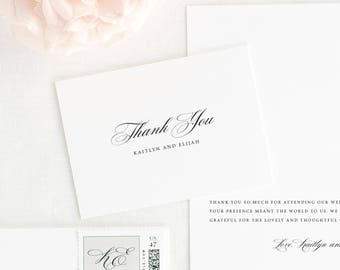 Kaitlyn Thank You Cards