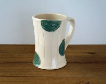 Pottery Coffee Mug - Large Ceramic Mug - Pottery Tea Mug - Gift for Her - Gift for Him - Mother's Day Gift- House Warming Gift