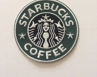 Starbucks Coffee patch - iron-on 3 inch patch
