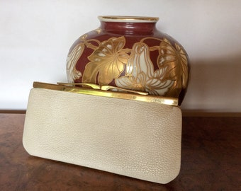 Vintage clutch purse 1950 1960 sequin and beaded