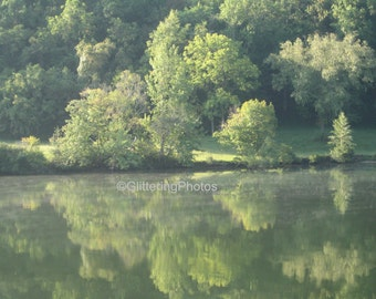 Tennessee, River, Reflections, Fine Art, Photograph, Print, Glossy