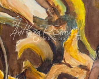Abstract Art, Watercolor, Home Decor, Photographic Art