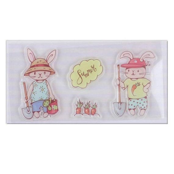Bunny Stamp & Die Cut Set