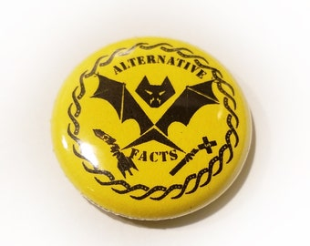 Alternative Facts (Tentacles) 1 inch Button