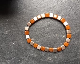grey and Brown bracelet