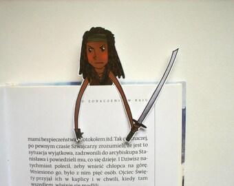 Michonne The walking dead bookmark