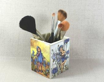 Fée Make Up Pot, fête des mères, cadeau de la fée, Pot à crayons fée, fées, cadeau de Faerie, cadeaux de fées, l'arbre crayon porte, emballage de cadeau gratuit!