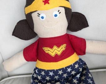 CUSTOM Wonder Woman doll