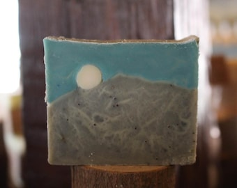 Starry Night Handmade Cold Process Soap