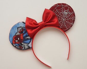 Spiderman Mouse Ears