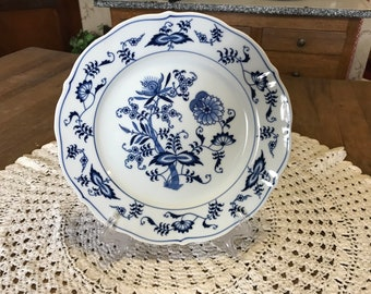Blue Danube Dessert Plate Japan