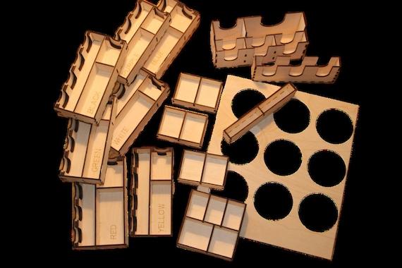 SCYTHE Organiser Kickstarter edition compatible DIY or