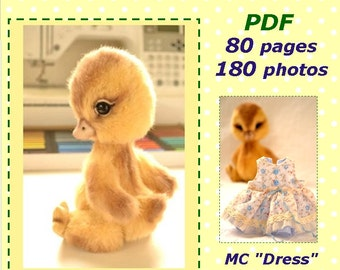 Pattern and masterclass on teddy duck tailoring in English