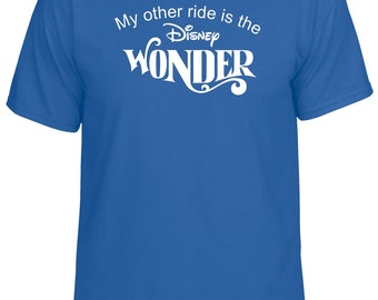 My Other Ride is the Disney Wonder Cruise Vacation Bahamas tshirt