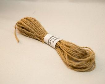 Natural Hemp Twine String 1.5 mm