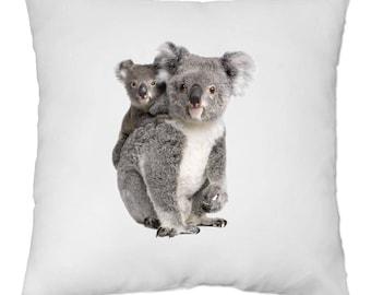 Cover cushion 40 x 40 cm - Koala MOM and baby - Yonacrea