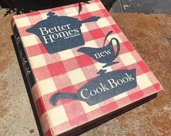 1963 better homes and Gardens new cookbook