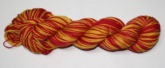 Gryffindor - Book Self Striping Sock Yarn