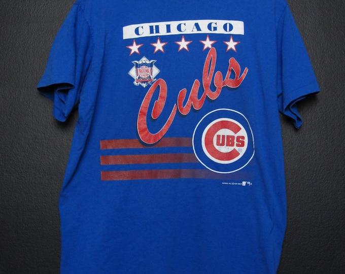 Chicago Cubs MLB 1991 Vintage Tshirt