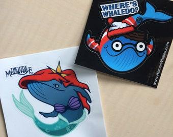 Whaledo Sticker