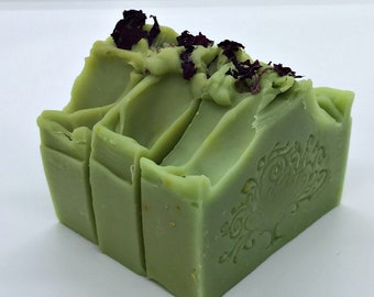 AVOCADO Handmade Vegan Soap with Litsea Cubeba Essential Oil