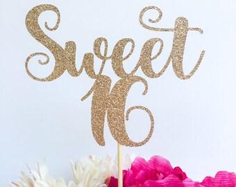 Glitter Sweet 16