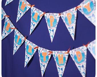 Shark; Shark Party; Shark Birthday;Shark Banner; Shark Decor; Shark Party Kit; Shark Birthday Party Banner; PDF Shark Party Banner