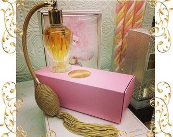 """Scent of your Choice In Fancy Refillable Flapper Queen Vanity """"Perfumer"""" / Atomizer Bottle"""