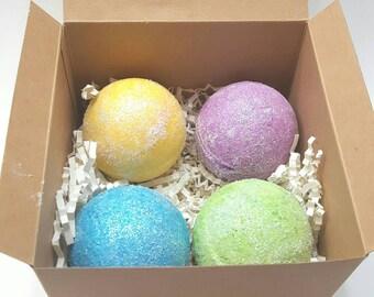 Bath Bomb Gift Set / Bath Bombs / Bath Gift Set / Bath Fizzy / Bath Bomb Pack / Bath Box / Bridesmaid Gifts