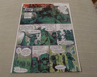 Tank Girl CLIPPING comic trigger happy