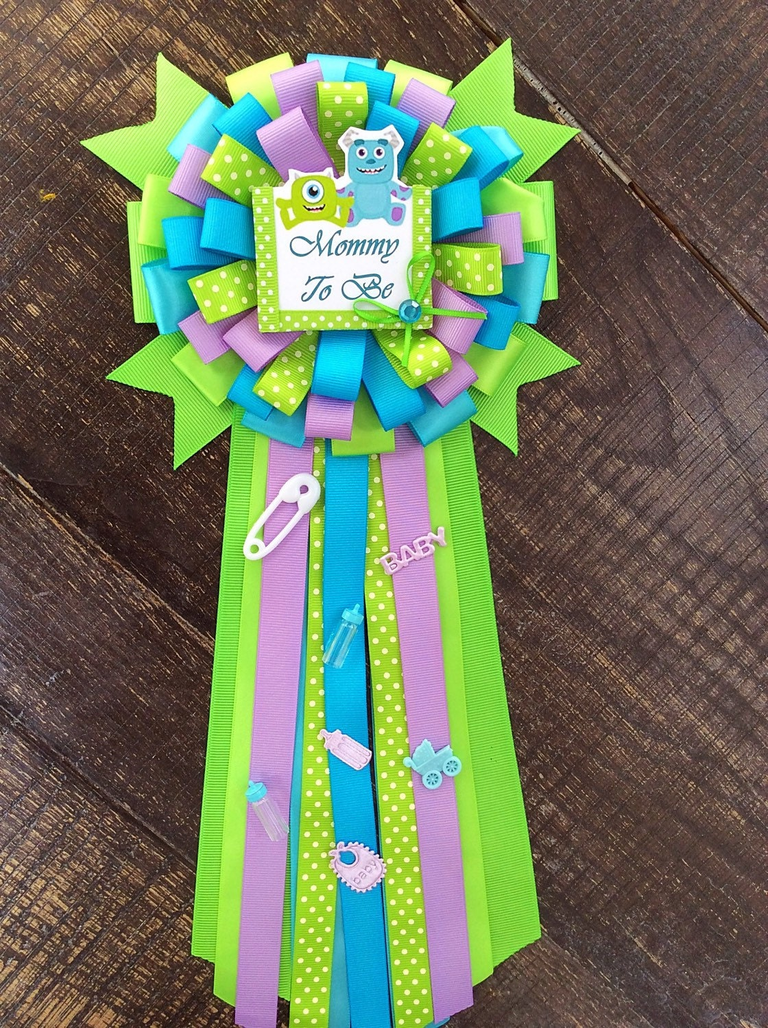 Mommy to be monsters inc baby shower Monsters inc baby