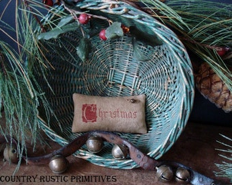 Primitive C Is For Christmas Pinkeep E Pattern PDF