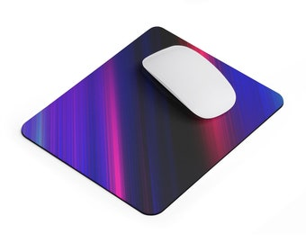 Bright Striped Gradient Mousepad